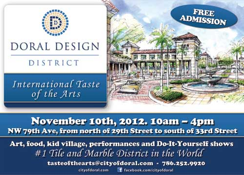 Post image for International Taste of the Arts Festival Showcases Doral's Design District
